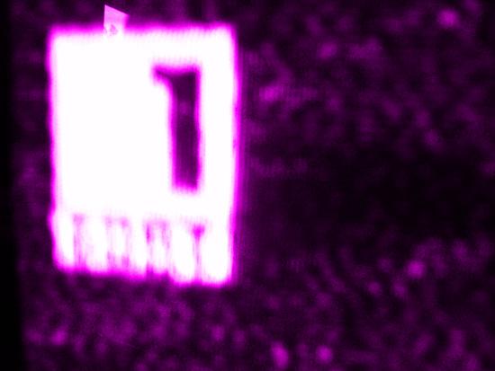 Телевизионен екран със случаен стопкадър. Снимка: Архив на artnovini.com
