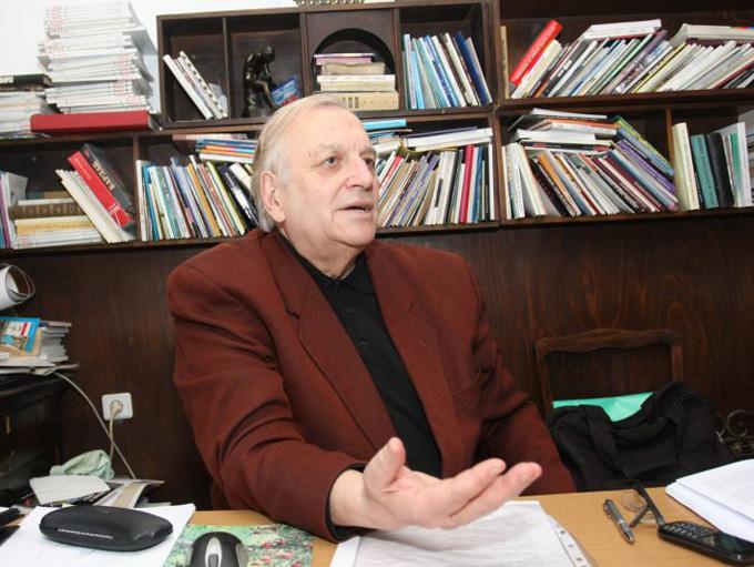 """Георги Константинов - един от класиците на съвременната българска поезия. Снимка: © Ани Петрова, в. """"Новинар"""""""