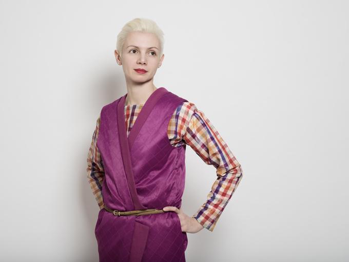 Кристина Щайнбрехер-Пфанд, артистичен директор и говорител на viennacontemporary. Снимка: © viennacontemporary / Elsa Okazaki