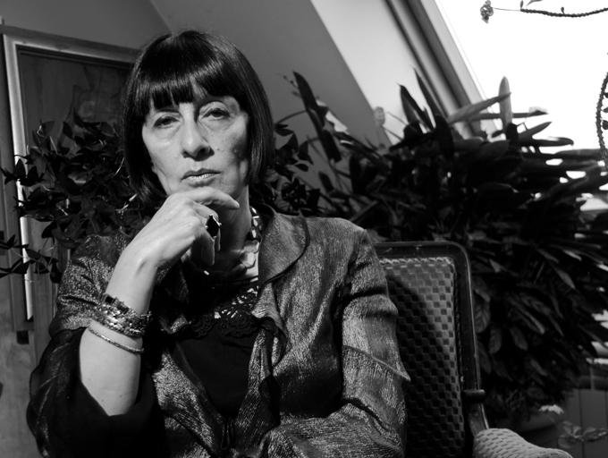 Проф. Десислава Минчева. Снимка: © личен архив на художничката