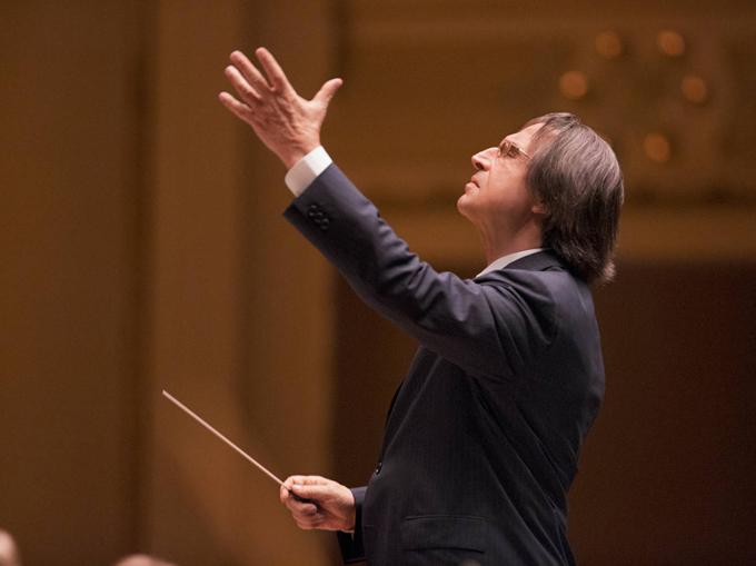 Световноизвестният италиански диригент работи с Виенската филхармония от 1971 г. Фотокредит: © Вирджиния Рекърдс/Sony Classical