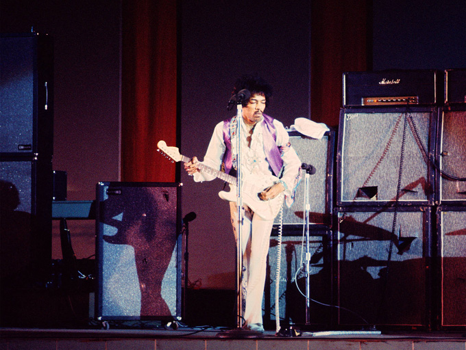 Гениалният Джими Хендрикс - музикантът, който промени завинаги рок музиката. Photo Credit: Chuck Boyd