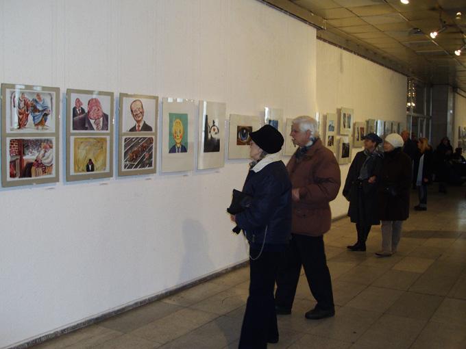 Поредното, 43-то издание на Националната изложба на българската карикатура ще продължи от 5 до 30 април т.г. Снимка: © Архив на artnovini.com